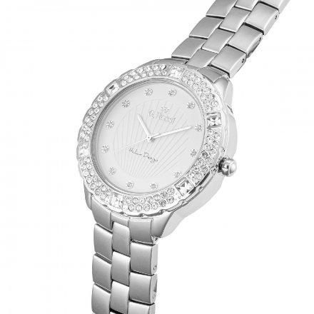 Zegarek damski G.Rossi srebrny z bransoletką G.R8527B2-3C1