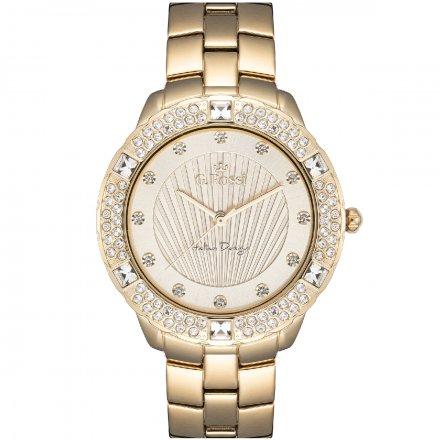 Zegarek damski G.Rossi złoty z bransoletką G.R8527B2-4D1