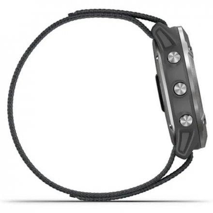 Zegarek Garmin Enduro Grafitowy z szarym paskiem 010-02408-00