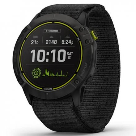 Zegarek Garmin Enduro Czarny z czarnym paskiem 010-02408-01