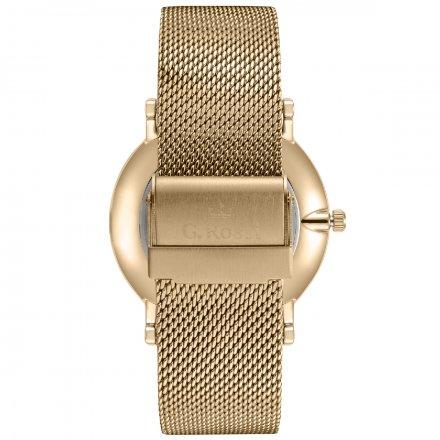 Zegarek damski G.Rossi złoty z bransoletką G.R8709B2-3D1