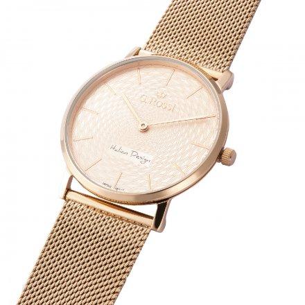 Zegarek damski G.Rossi różowozłoty z bransoletką G.R8709B2-3D3