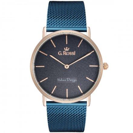 Zegarek damski G.Rossi wielokolorowy z bransoletką G.R8709B2-6F3-2