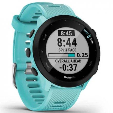 GARMIN Forerunner 55 Turkusowy zegarek do biegania 010-02562-12