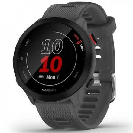 GARMIN Forerunner 55 Grafitowy zegarek do biegania 010-02562-13
