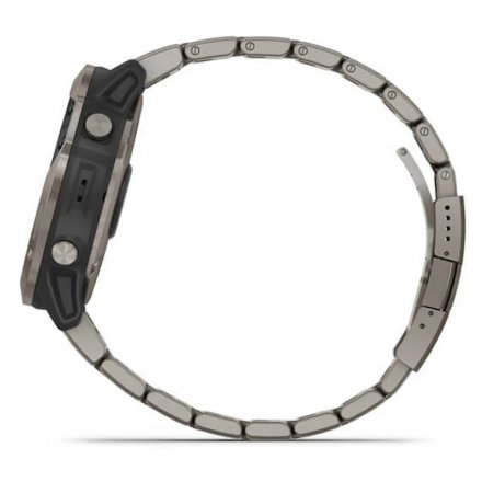 Zegarek Garmin Quantix 6X Solar Tytanowy z bransoletą 010-02157-31