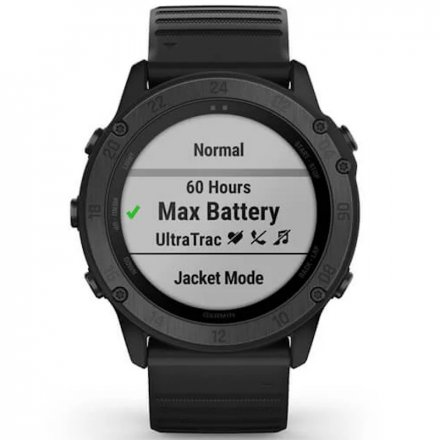 Zegarek Garmin Tactix Delta Sapphire Czarny z czarnym paskiem 010-02357-01