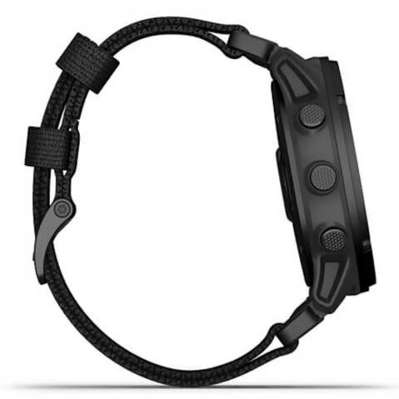 Zegarek Garmin Tactix Delta Solar Czarny z czarnym paskiem 010-02357-11