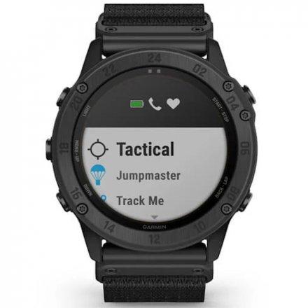 Zegarek Garmin Tactix Delta Solar Ballistics Czarny z czarnym paskiem 010-02357-51