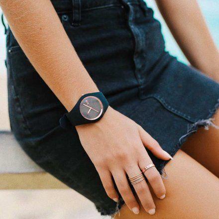 Zegarek Ice-Watch 000980 Ice.GL.BRG.U.S.14 Ice Glam Black rose gold