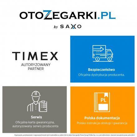 T2P452 Zegarek Męski Timex Intelligent Quartz 3-Gmt T2P452