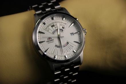 ORIENT FEU0A003WH Zegarek Japońskiej Marki Orient EU0A003W