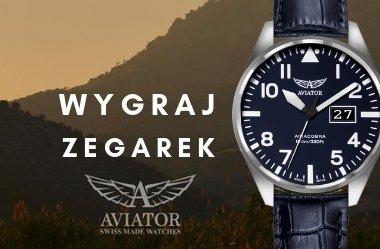 ✰ Zgarnij szwajcarski zegarek Aviator Swiss Made Airacobra V.1.22.0.149.4  ✰