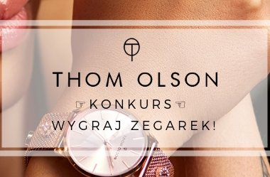 Konkurs ☆ wygraj zegarek Thom Olson CBTO009 Day Dream Grey Passion
