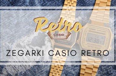 Zegarki Casio Retro - styl vintage znowu w modzie