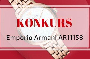 Konkurs Walentynkowy ❤ wygraj zegarek Emporio Armani AR11158