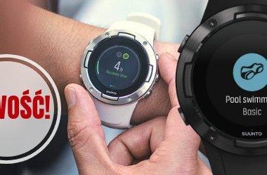 Suunto 5 zegarek sportowy z GPS i pulsometrem oraz trwałą baterią
