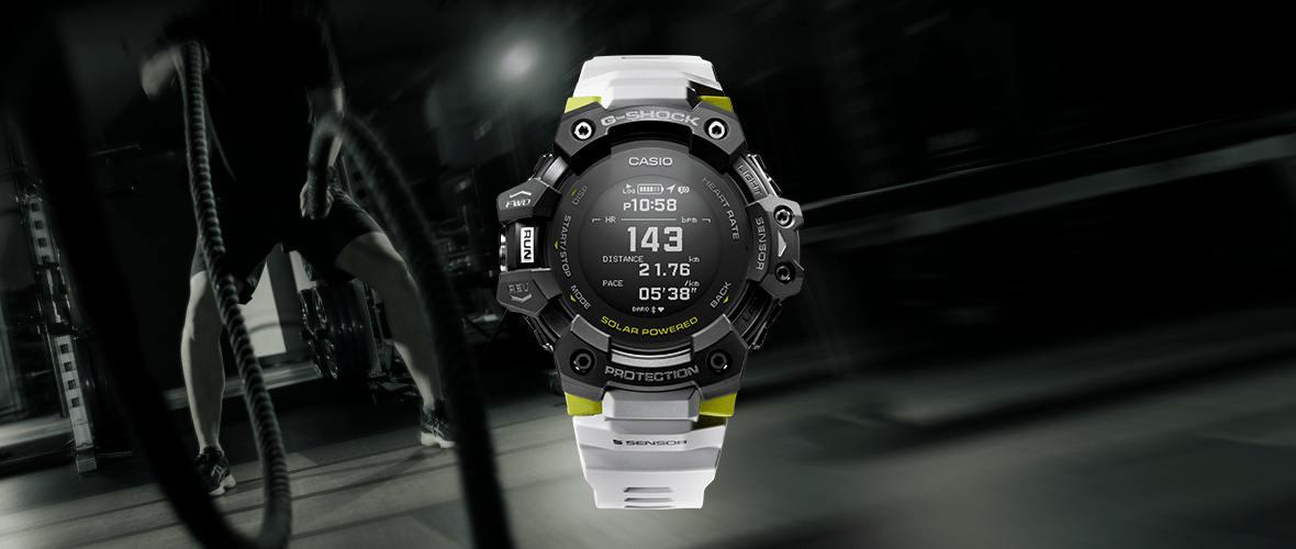 Zegarek Casio GBD H1000 1A7ER G Shock G SQUAD GPS Pulsometr